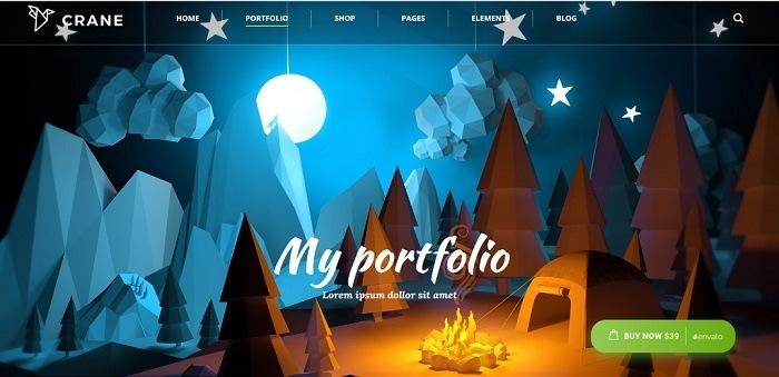 tema derek WordPress
