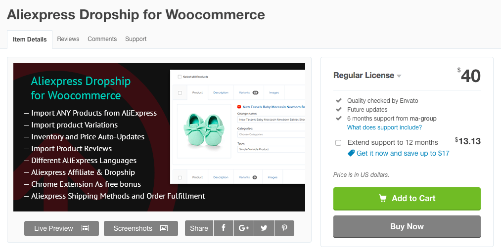 Aliexpress Dropship per a WooCommerce