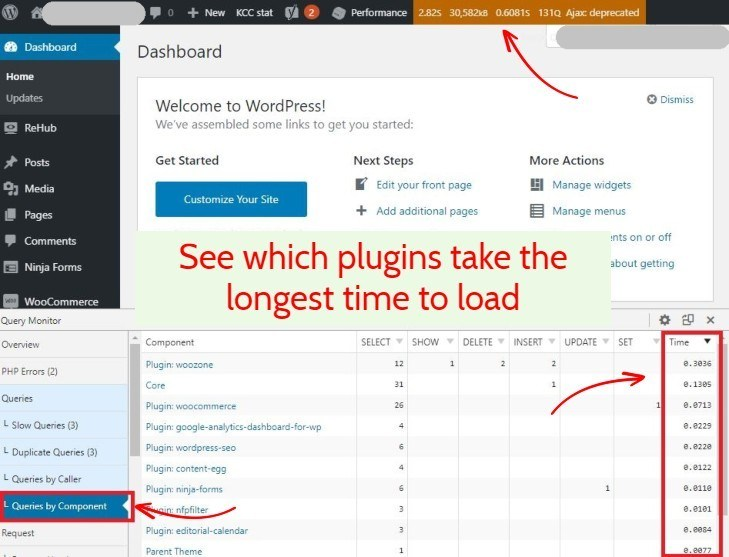 Plugin WordPress Query Monitor