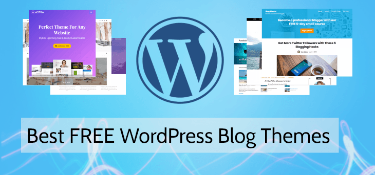 безплатни теми за блог на WordPress