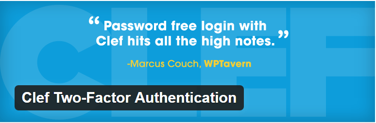 Ang Clef Two-Factor Authentication