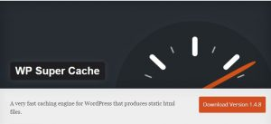 Plugin Cache WordPress