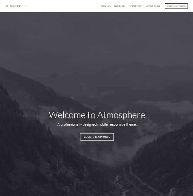 Atmosphere Genesis Theme