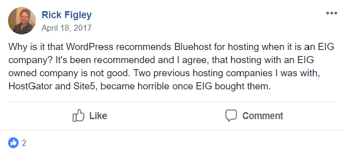 Bluehost-EIG-Feedback