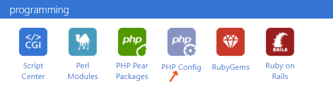 Bluehost-PHP-Config