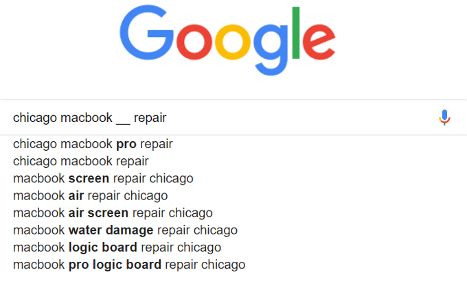 Mga Keyword sa Chicago