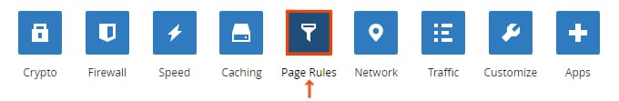 Параметри CloudFlare-Page-Rules-Settings