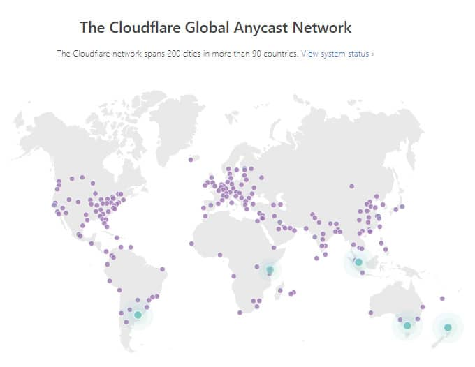 Cloudflare Data Center