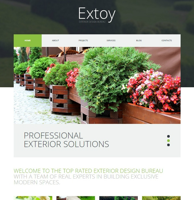 Extoy WordPress Landscape Theme