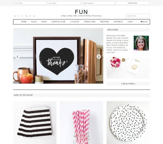 Fun Genesis eCommerce Theme