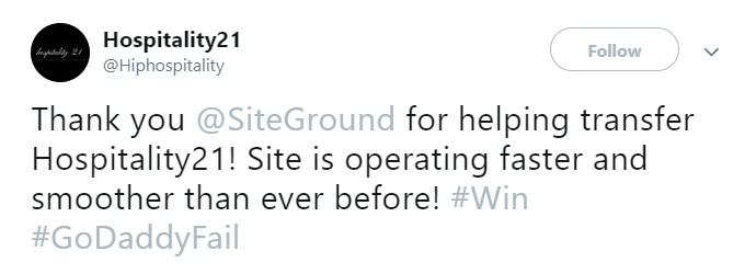 Godaddy To SiteGround Migration