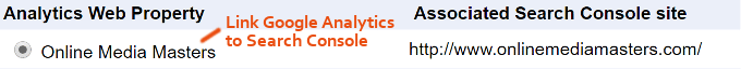 Google Analytics-egendom