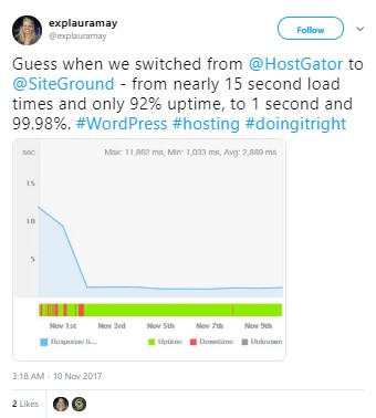 HostGator到SiteGround的迁移