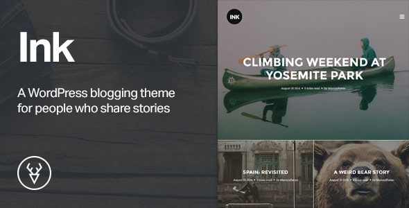 Atrament - WordPress Story Theme
