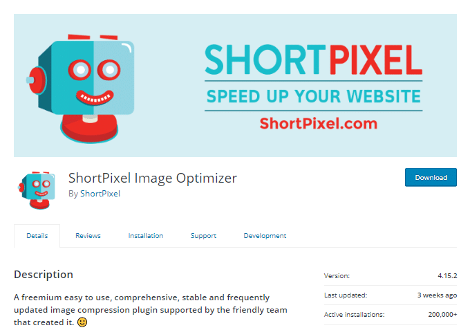 ShortPixel Image Optimizer Plugin