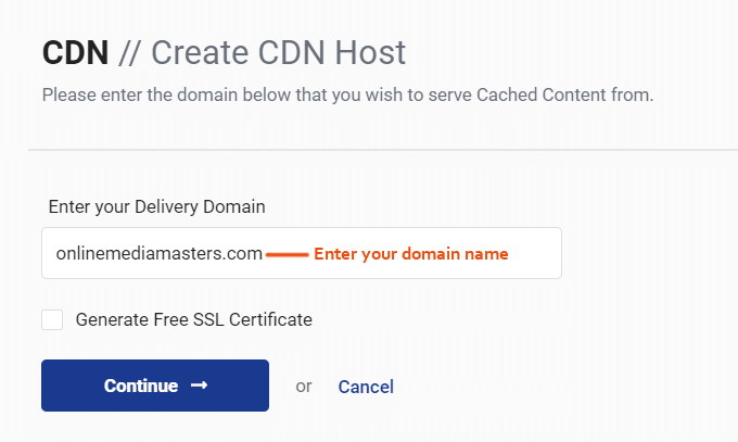 StackPath-CDN-domena