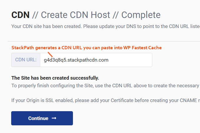 StackPath-CDN-URL-WP-Cache-Cel mai rapid