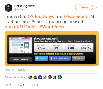 WP Engine Sa Cloudways