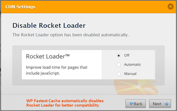 WP-Cel mai rapid-cache-disable-Rocket-Loader