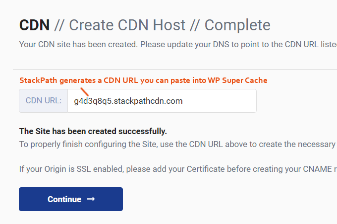 """WP-Super-Cache-StackPath-CDN-URL"""