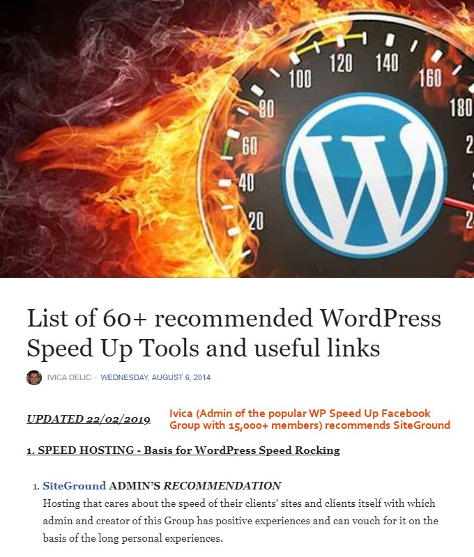 Preporučeni alati za WordPress-Speed-Up
