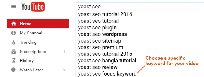 Youtube-SEO-Keyword