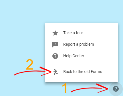 Google Older Forms