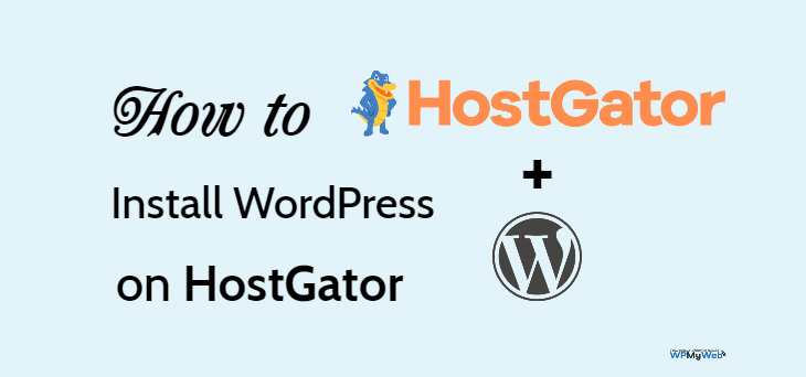 Pasang WordPress di HostGator
