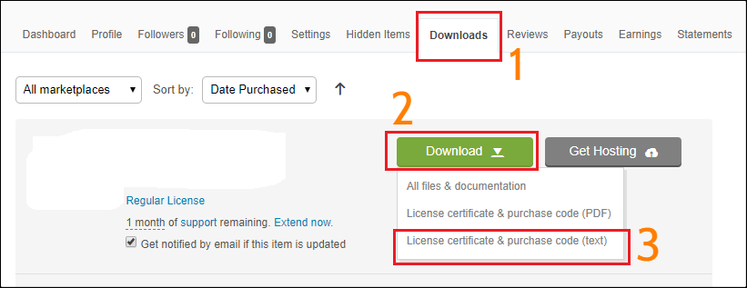 codecanyon download-licens