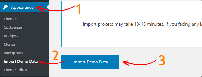 Temaimport-demonstrationsdata