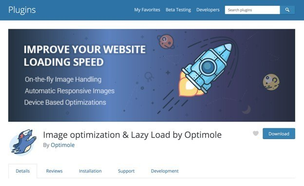 Optimole Optimizer slike