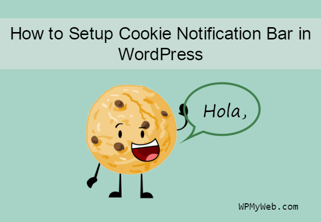 Come impostare il popup di notifica dei cookie in WordPress