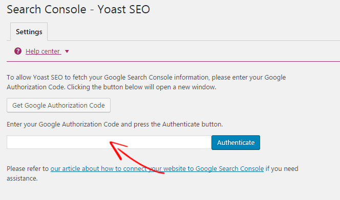 Yoast Search Console