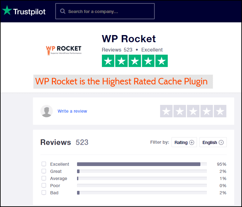 Trustpolit-WP-Rocket-Reviews