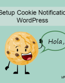 'Paano i-set up ang Cookie notification Bar sa WordPress