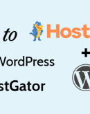 'Hur man installerar WordPress på HostGator på 5 minuter (2020)